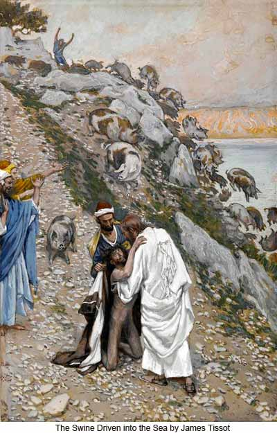 James_Tissot_The_swine_driven_into_the_sea_400-web