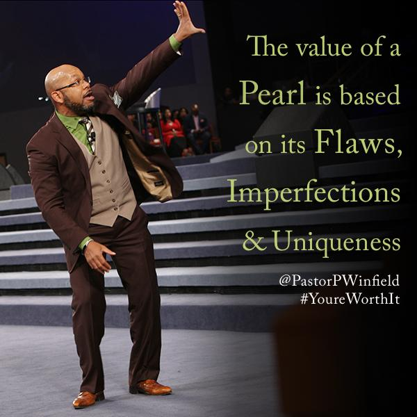 The Value of a Pearl is based on its Flaws, Imperfections & Uniqueness