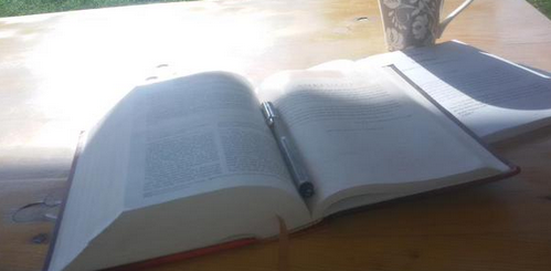 No better way to start your morning than to spend time with God!