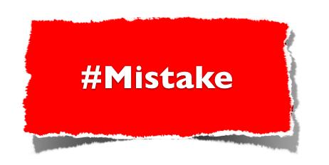hash-mistake