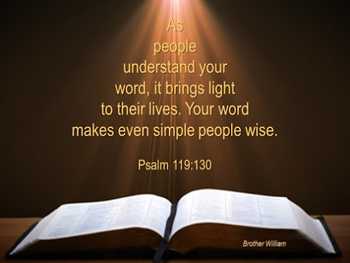 As people understand your word, it brings light into their lives.  Your word make even simple people wise.