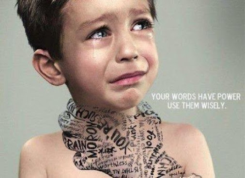 YOUR WORDS HAVE POWER USE THEM WISELY