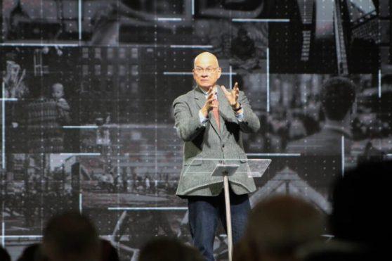 Pastor Tim Keller pastors a Presbyterian church in New York.